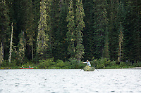 Camping and fly fishing. Gold Lake, Oregon.
