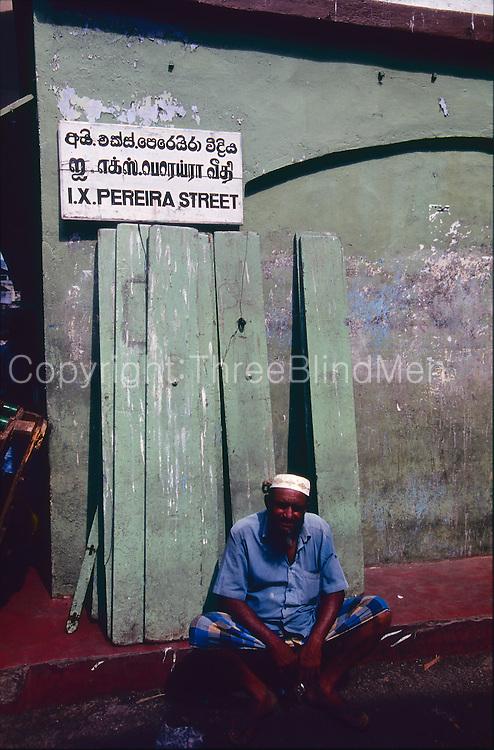 I.X. Pereira Street, Pettah, Colombo. circa 2005