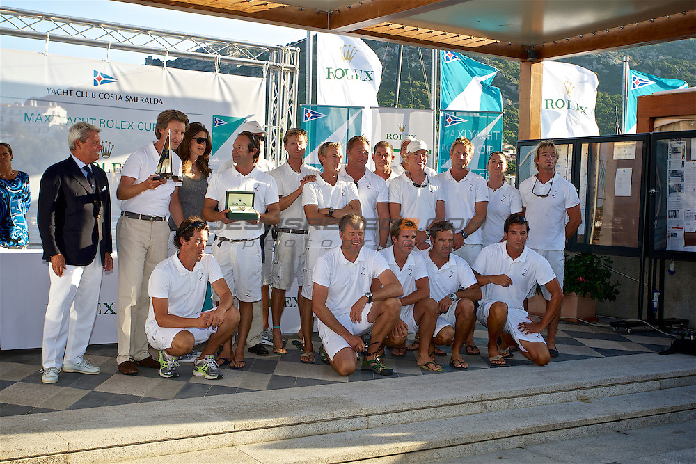 Rolex maxi world championships 2013.Prize giving