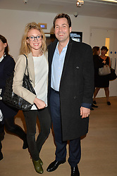 HENRY & NAOMI ALLSOPP at an evening of Fashion, Art & design hosted by Ralph Lauren and Phillips at the new Phillips Gallery, 50 Berkeley Square, London on 22nd October 2014.