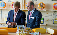 Heerenveen, 08-07-2015 <br /> <br /> King Willem-Alexander opened Cheese Factory Royal A Ware<br /> <br /> Royalportraits Europe/Bernard Ruebsamen