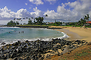 Brennecke Beach, Kauai, Hawaii<br />