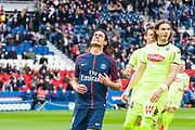 Edinson Cavani (psg) during the French Championship Ligue 1 football match between Paris Saint-Germain and SCO Angers on march 14, 2018 at Parc des Princes stadium in Paris, France - Photo Pierre Charlier / ProSportsImages / DPPI