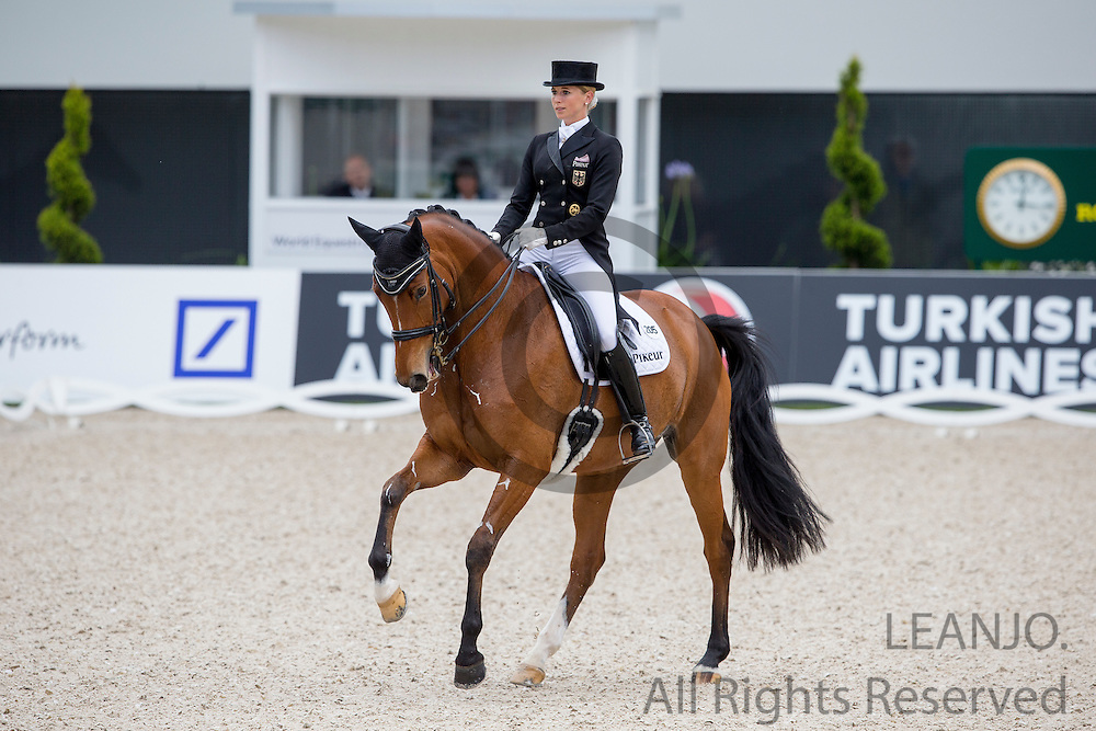 Jessica von Bredow Werndl - Zaire 14<br /> World Equestrian Festival, CHIO Aachen 2015<br /> &copy; DigiShots