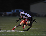 Lafayette High's Brandon Mack (4) vs. Greenwood in Oxford, Miss. on Friday, August 24, 2012. Lafayette won 41-0.