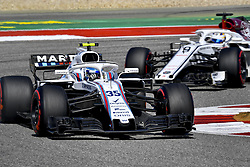 October 21, 2018 - Austin, United States - Motorsports: FIA Formula One World Championship; 2018; Grand Prix; United States, FORMULA 1 PIRELLI 2018 UNITED S GRAND PRIX , Circuit of The Americas , #35 Sergey Sirotkin (RUS Williams Mercedes, Mercedes) (Credit Image: © Hoch Zwei via ZUMA Wire)