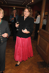 LEONORA, COUNTESS OF LICHFIELD at a reception to launch the Knight of Glin's book 'Irish Furniture' and Harry Erne's book 'Freddy Lond Ears' held at Christie's, 8 King Street, London SW1 on 3rd May 2007.<br /><br />NON EXCLUSIVE - WORLD RIGHTS
