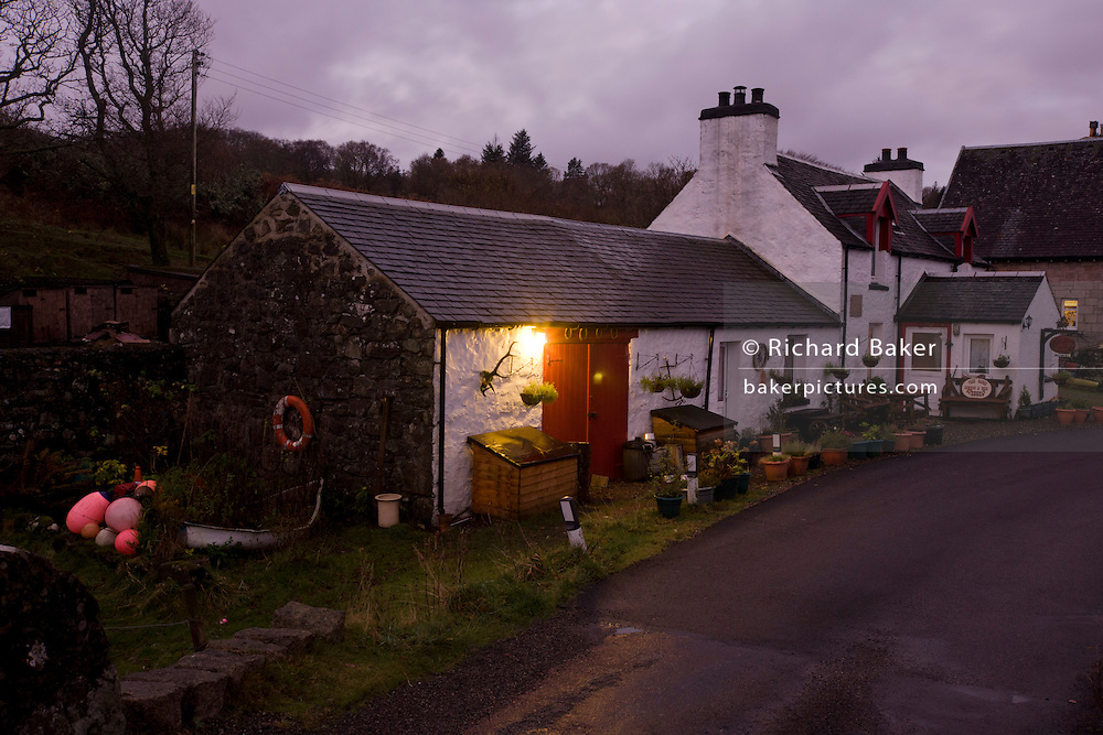 The Old Smithy (now a bed and breakfast cottage)  Pennyghael, Isle of Mull, Scotland. (http://www.explore-isle-of-mull.co.uk/smithy-house/index.htm) ..http://www.pennyghael.org.uk/Community/Storage/index.htm