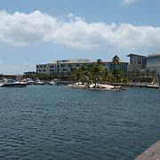 Camana Bay Mall and development. Grand Cayman Island.