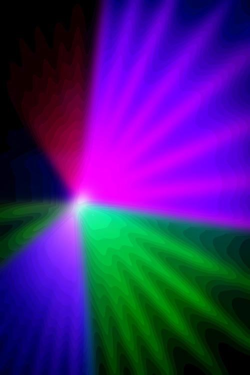 Laser effects a club.