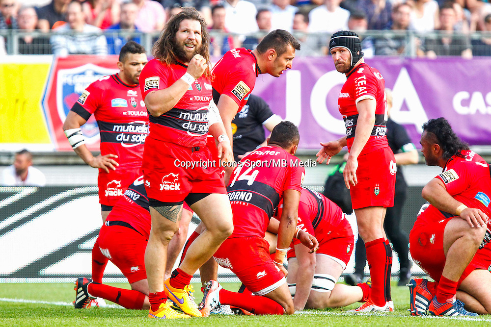 Joie Toulon - 11.04.2015 - Grenoble / Toulon  - 22eme journee de Top 14 <br />