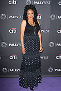 "TYMBERLEE HILL attends the NBC Presentation of ""Perfect Harmony"" at the 2019 PaleyFest Fall TV Previews at the Paley Center for Media in Beverly Hills, California"