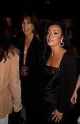 Donna Karan and Nancy dell'Olio, Donna Karan Party to celebrate 20 Years  as a designer.  Showroom in New Bond St. 21 September 2004. DoSUPPLIED FOR ONE-TIME USE ONLY-DO NOT ARCHIVE. © Copyright Photograph by Dafydd Jones 66 Stockwell Park Rd. London SW9 0DA Tel 020 7733 0108 www.dafjones.com