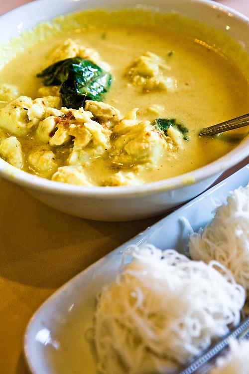 Keng kati sai poo at Raya Thai Cuisine restaurant, Phuket Old Town
