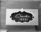 1957 Clarks Shoe Display