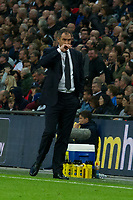 Football - 2017 / 2018 Premier League - Tottenham Hotspur vs. Swansea City<br /> <br /> Swansea City manager Paul Clement on the touchline—<br /> , at Wembley.<br /> <br /> COLORSPORT/WINSTON BYNORTH