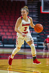 NORMAL, IL - November 05: Mary Compton during a college women's basketball game between the ISU Redbirds and the Truman State Bulldogs on November 05 2019 at Redbird Arena in Normal, IL. (Photo by Alan Look)