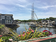 One of my favorite views from the bridge in Kennebunkport, Maine