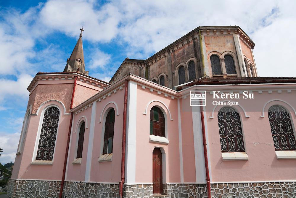 Dalat Catholic church.