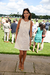 YASMIN MILLS at the Audi International Polo at Guards Polo Windsor Great Park, Egham, Surrey on 28th July 2013.