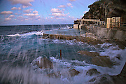Seaspray late afternoon, Bronte Baths, Sydney, Australia