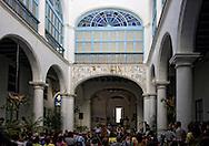 Courtyard recital in Havana Vieja, Cuba.