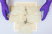 Spilsbury index cards detailing methods of death and portrait from Punch - Forensics: the anatomy of crime – announcement of Wellcome Collection's major spring exhibition.  Never-displayed items from historic figures of forensic medicine including the work of: Sir Bernard Spilsbury who was the first of the celebrity pathologists whose evidence, taken down on indexed note cards, turned cases - including that of Dr Crippen; Alphonse Bertillon who invented the mug shot and developed classifying techniques for identification (demonstrated in his 1893 book Identification anthropometrique: instructions signaletiques) - Sherlock Holmes is described as 'the second highest expert in Europe' after Bertillon in The Hound of the Baskervilles; and the Ortus Sanitus (Garden of Health) a book by Jacob Meydenbach, 1481, illustrating, amongst other things, the relationship of flies to carrion – contradicting existing medieval superstition.