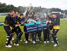 Dunedin-Cricket, Ford Trophy Final, Firebirds v Volts