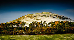 Quothquan Law in South Lanarkshire Scotland on a cold winter morning.<br /> <br /> (c) Andrew Wilson | Edinburgh Elite media