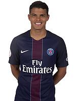 Thiago Silva<br /> FOOTBALL : Photos officielles Paris Saint Germain - 07/09/2016<br /> Norway only