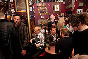 Ponystep - issue 3 launch party, George and Dragon, 2-4 Hackney Road, London, E2.  April 5 2012.