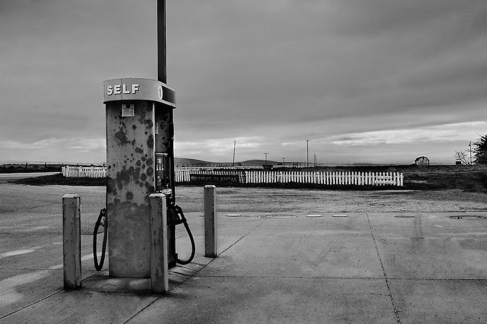 Piedro Blancas Gas Pump, CA