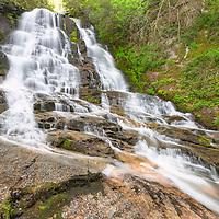 Pinnacle Falls, near Rosman, North Carolina. On private property, please respect.