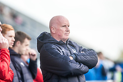 Falkirk's manager Peter Houston. Falkirk v Raith Rovers. Scottish Championship game played 22/10/2016 at The Falkirk Stadium.