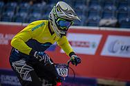 2018 UEC European Elite Championships, Glasgow (UK)<br /> SVANBERG Filip #107 (SWEDEN)