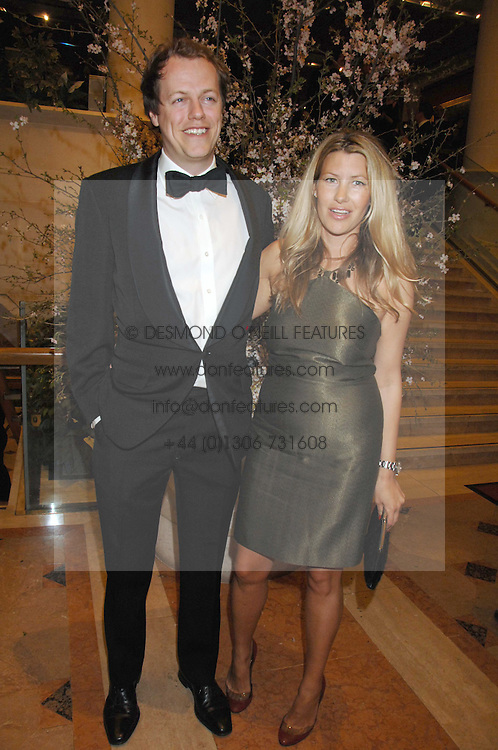 TOM & SARA PARKER BOWLES at the Feast of Albion a sumptious locally-sourced banquet in aid of The Soil Association held at The Guildhall, City of London on 12th March 2008.<br />