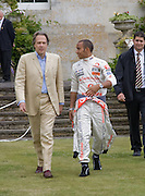 Lord March; Lewis Hamilton , The Cartier Style et Luxe Concours lunch at the Goodwood Festival of Speed. July 13, 2008  *** Local Caption *** -DO NOT ARCHIVE-© Copyright Photograph by Dafydd Jones. 248 Clapham Rd. London SW9 0PZ. Tel 0207 820 0771. www.dafjones.com.