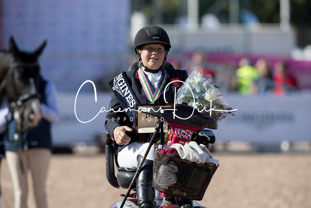 Payne Julie, GBR<br /> D1 FEI Grand Prix - Team Competition<br /> FEI European Para Dressage Championships - Goteborg 2017 <br /> © Hippo Foto - Dirk Caremans<br /> 22/08/2017,