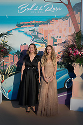 French actress Carole Bouquet and Charlotte Giacobetti attend the Rose Ball 2019 at Sporting in Monaco, Monaco on March 30, 2019. Photo by Jacques Witt-Pool/ABACAPRESS.COM