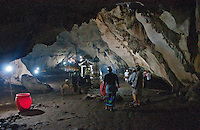 Beginning of the cave temple complex at Goa Giri Putri on Nusa Penida, Bali, Indonesia
