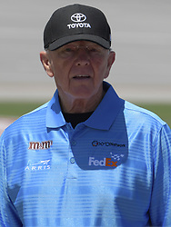April 29, 2018 - Talladega, AL, U.S. - TALLADEGA, AL - APRIL 29: Joe Gibbs on pit road before the Monster Energy Cup Series 49th Annual Geico 500 on April 29, 2018, at Talladega Superspeedway in Talladega, AL. (Photo by Jeffrey Vest/Icon Sportswire) (Credit Image: © Jeffrey Vest/Icon SMI via ZUMA Press)