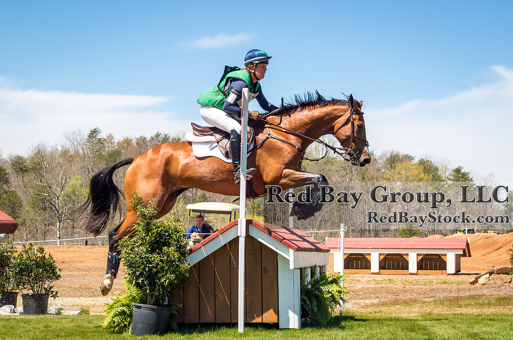 Kylie Lyman (USA) and Lup the Loop at The Fork Horse Trials at the Tryon International Equestrian Center in Millbrook, North Carolina.