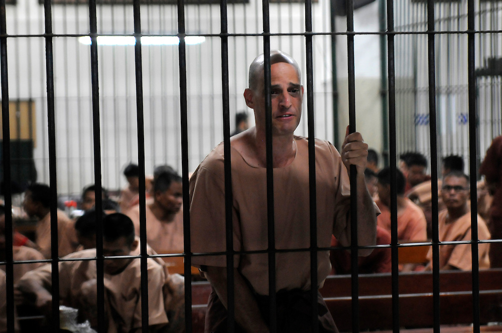 Australian writer, Harry Nicolaides, age 41, was sentenced to 3 years in prison after pleading guilty to lese-majeste for insulting the country?s Monarchy, Bangkok, Thailand, on Monday, January 19, 2009.  His 2005 book of fiction ?Verisimilitude? had a short passage about a fictional prince.  **Assignment Images for Sunday Times Magazine #2622**