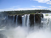 Iguassu (Iguazu) Falls, Argentina and Brazil border, South America