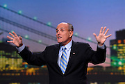 Former New York City Mayor, Rudy Giuliani, speaks in San Francisco, August 2006, Hasain Rasheed Photography.
