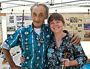 Andy Mackie and Sarah McFadyen at the Festival of American Fiddle Tunes.  Andy and Sarah bring the joy of music to the world.