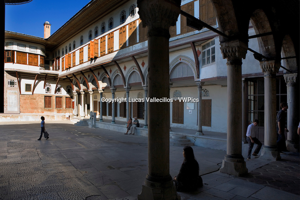 Topkapi Palace, Harem.Courtyard of Favourites .Istanbul, Turkey