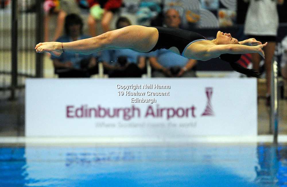 Scottish National Diving Championships &amp; Thistle Trophy 2015<br /> <br /> Free to use <br /> <br /> Royal Commonwealth Pool, Edinburgh<br /> Women's 1M Final<br /> <br /> Millie Haffety of City of Sheffield won the Junior Open during todays competition.<br /> <br />  Neil Hanna Photography<br /> www.neilhannaphotography.co.uk<br /> 07702 246823