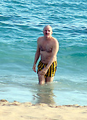Steve Martin in St Barth 01/10/2005