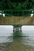 Mackinac bridge detail